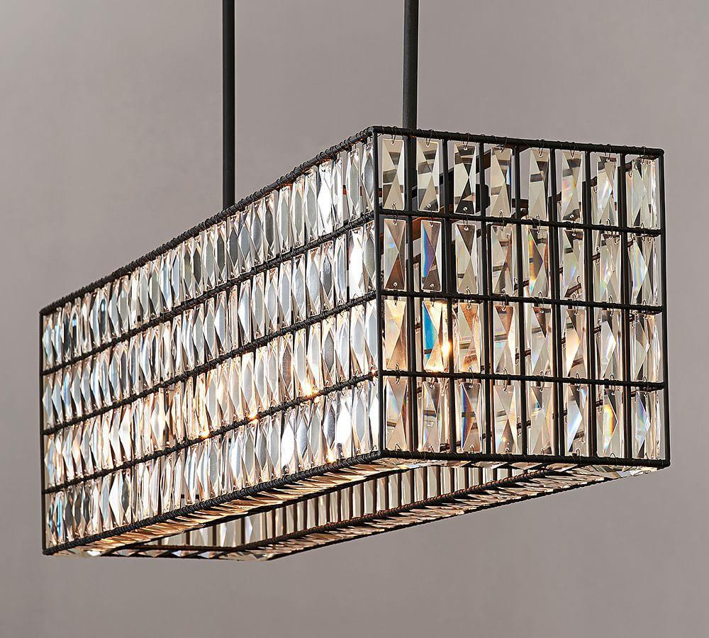 rectangular chrome crystal of diretto polished lighting chandelier modern picture brizzo stores lights