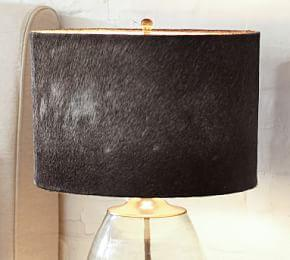 Rhea Cow Hide Lamp Shade