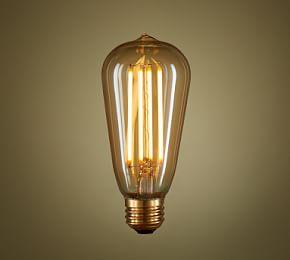LED Teardrop Filament 40W Equivalent Light Bulb