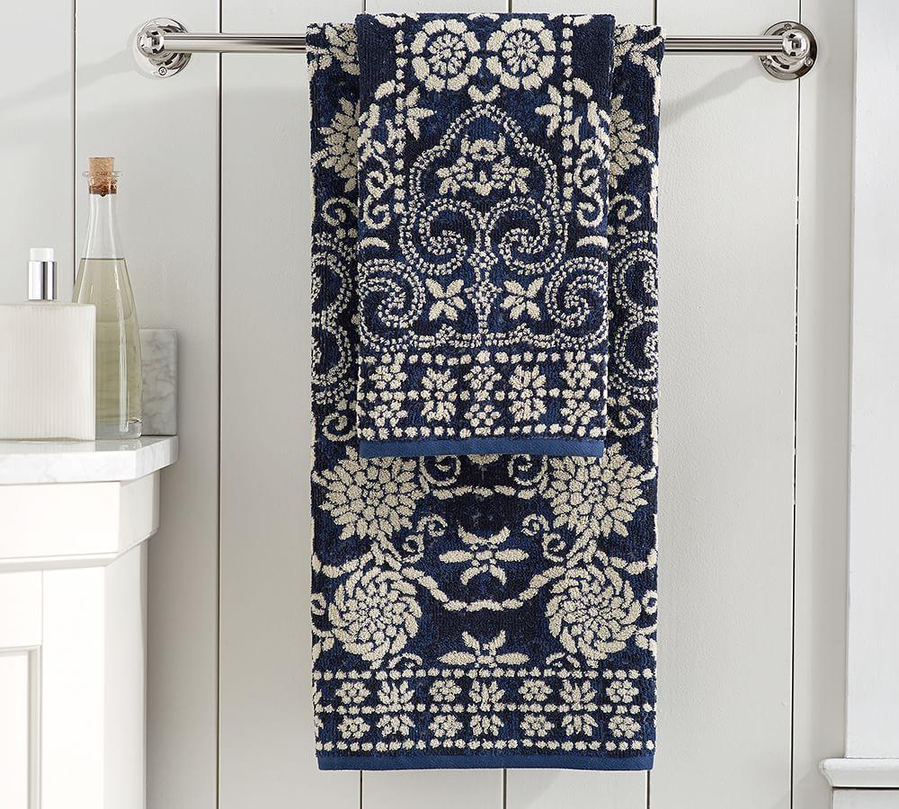 Indah Jacquard Bath Towels