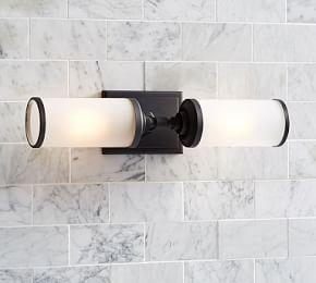Benchwright Double Horizontal Sconce