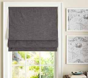 Emery Linen/Cotton Cordless Roman Shade