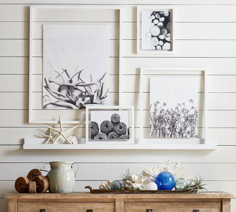 Floating Wood Gallery Frame White Pottery Barn Ca