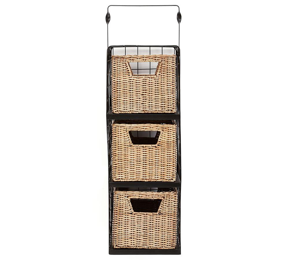 Gabrielle System Hanging Wire Multi-Shelf and Basket