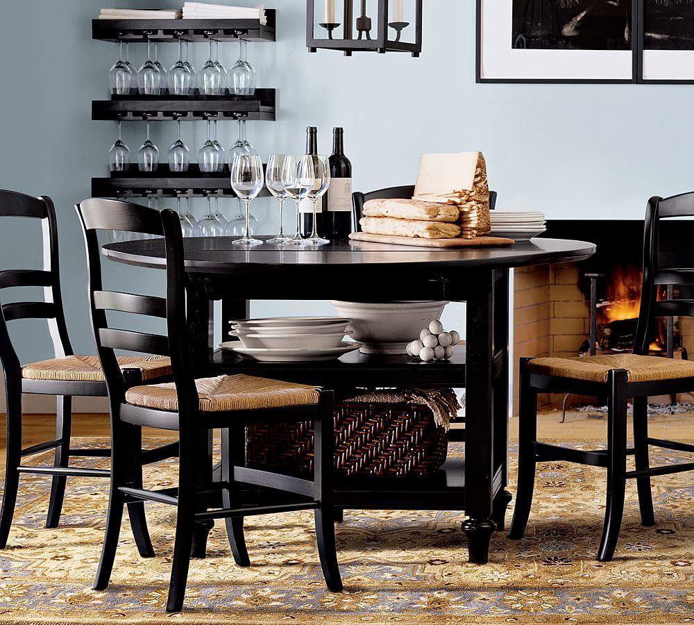 Shayne Table & Isabella Chair 5-Piece Dining Set