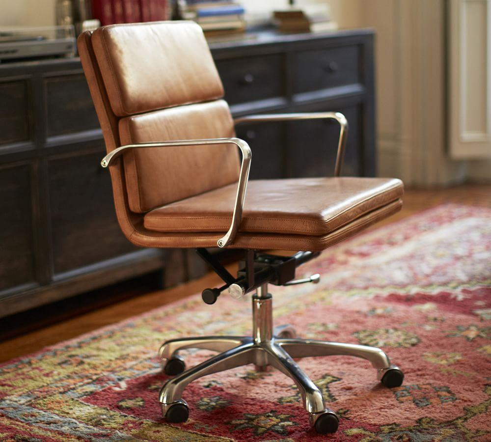Nash Swivel Desk Chair Pottery Barn Ca