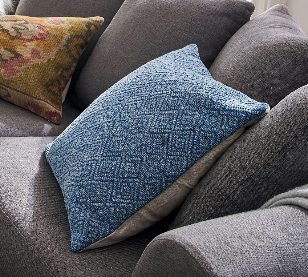 Washed Diamond Pillow Covers