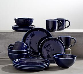 Joshua Dinnerware 16 Piece Set- Navy Blue