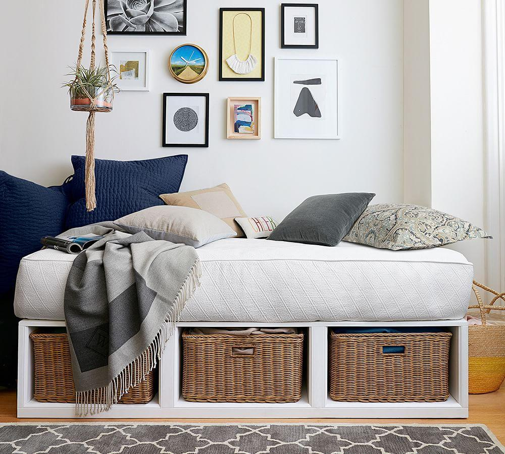 swish mattress pottery barn second stylized x off comforters hand special elegant barns size daybed ah day tufted montego bed