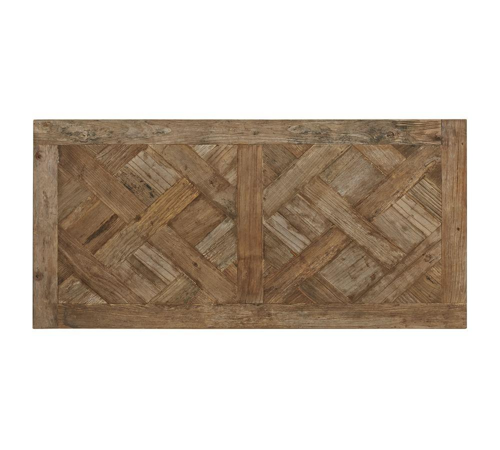Parquet Reclaimed Wood Rectangular Coffee Table