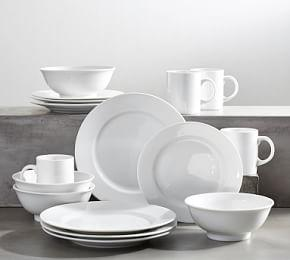 PB Classic Rim Dinnerware 16 Piece Set - Cereal Bowl