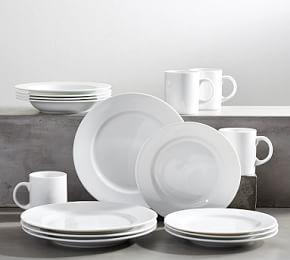 PB Classic Rim Dinnerware 16 Piece Set - Soup Bowl