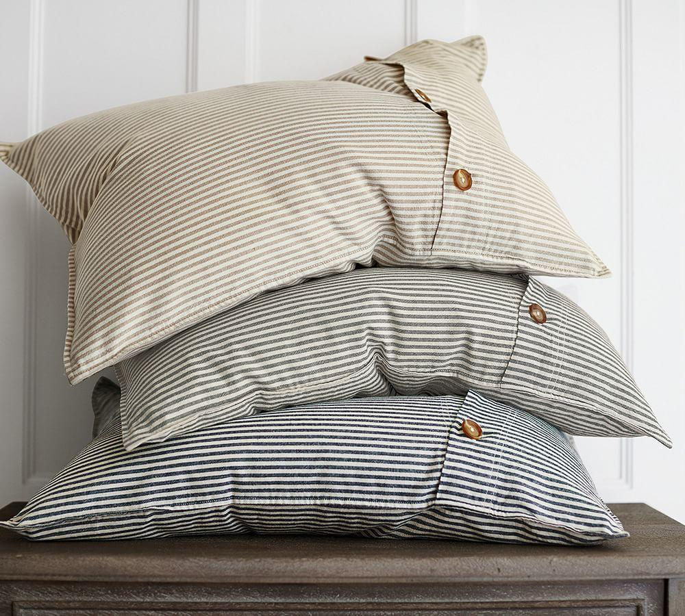 Wheaton Stripe Duvet Cover Amp Sham Pottery Barn Ca