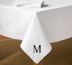 Caterer's Rectangle Tablecloth, White