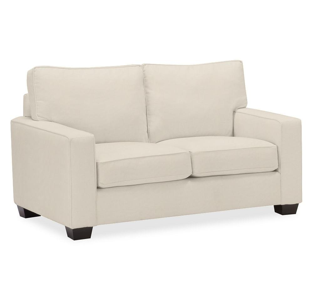 PB Comfort Square Arm Uphostered Loveseat 64