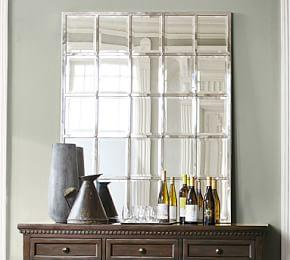 Eagan Multipanel Mirror Large Pottery Barn Ca