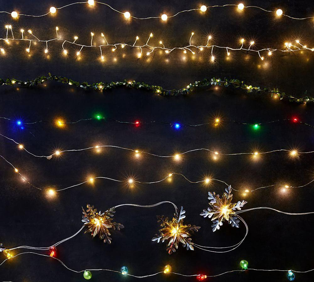 Mini Led String Lights Pottery Barn Ca