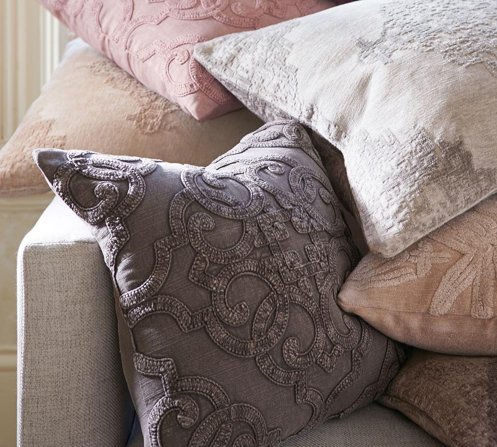 Drew Embroidered Pillow Covers
