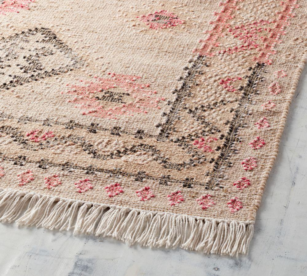 Solange Synthetic Kilim Rug Pottery Barn Ca