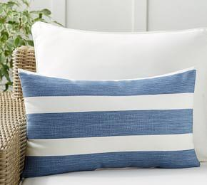 Noah Stripe Indoor/Outdoor Pillow