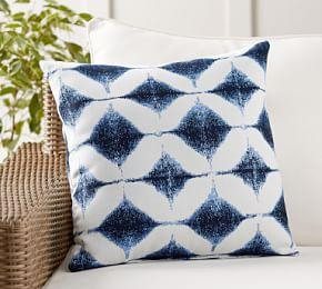 Sunbrella® Shelton Jacquard Indoor/Outdoor Pillow
