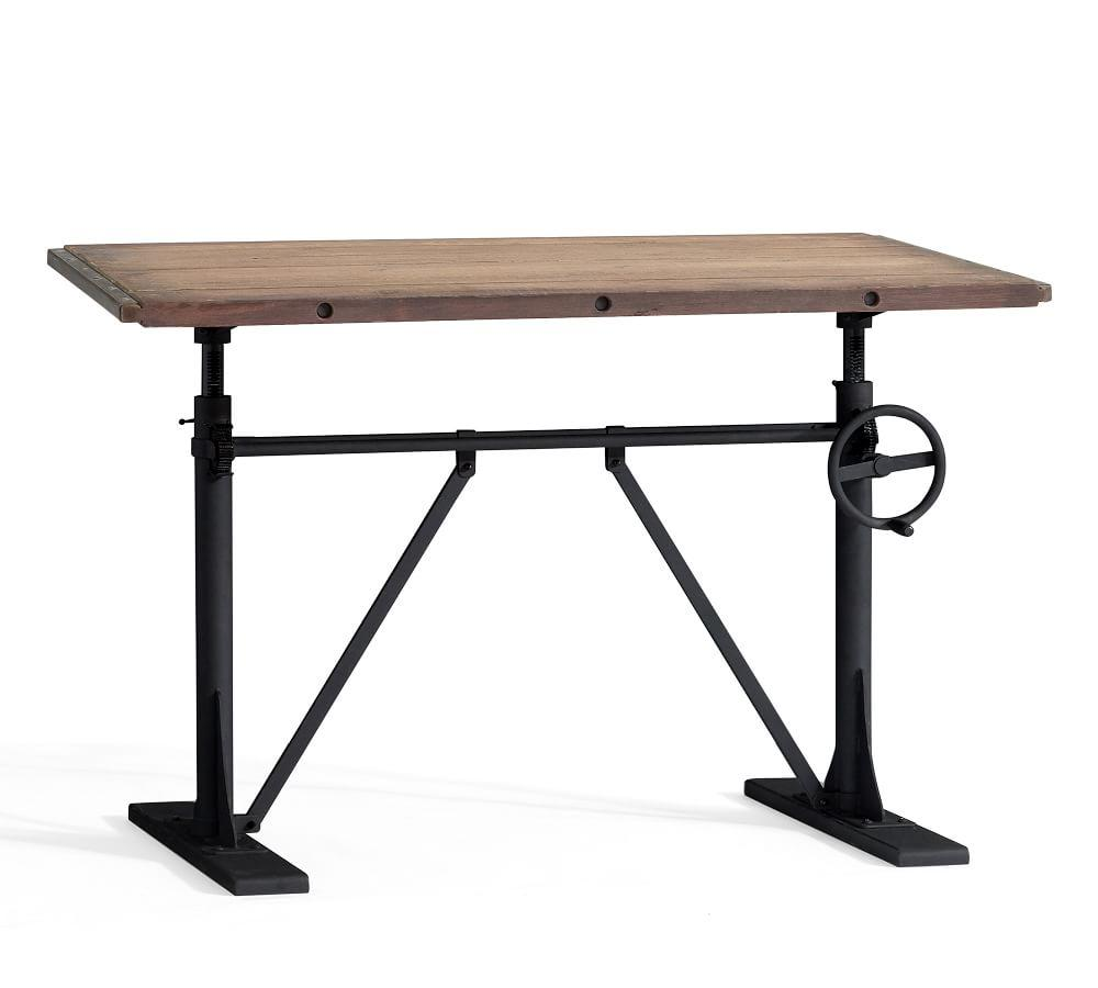 Pittsburgh Crank Sit Stand Desk Pottery Barn Ca