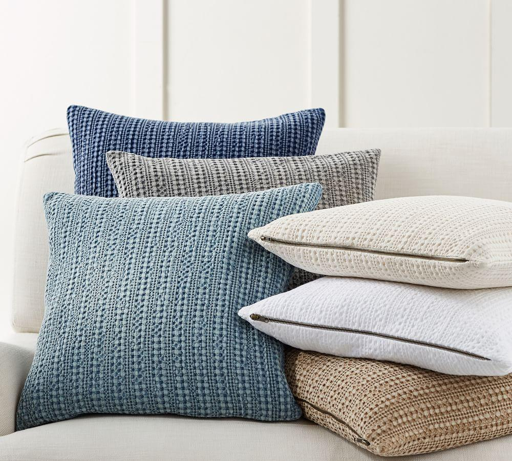 Honeycomb Pillow Covers Pottery Barn Ca