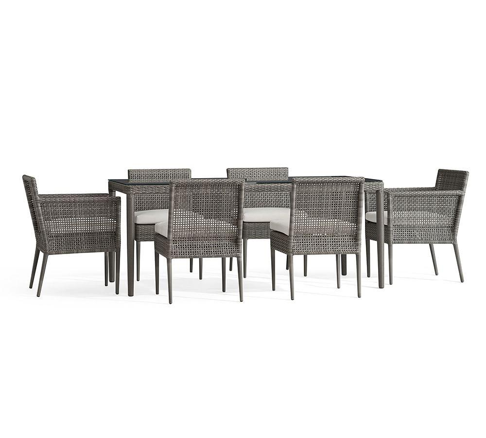 Cammeray All-Weather Wicker Table & Chair Dining Set
