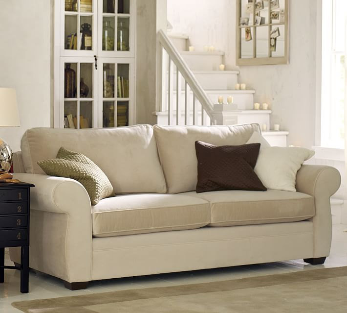 Pearce Roll Arm Upholstered Grand Sofa 90