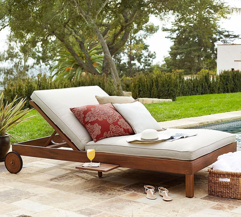 Chatham Double Chaise, Honey