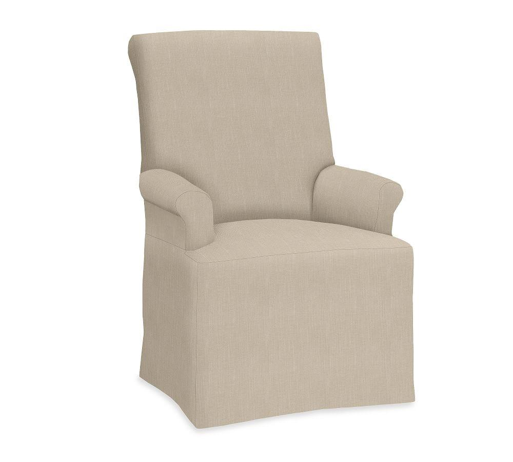 PB Comfort Roll Slipcovered Dining Chairs