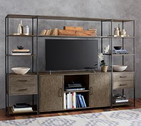 Ramsey Entertainment Center with Doors