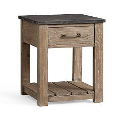 Parker Reclaimed Wood Side Table