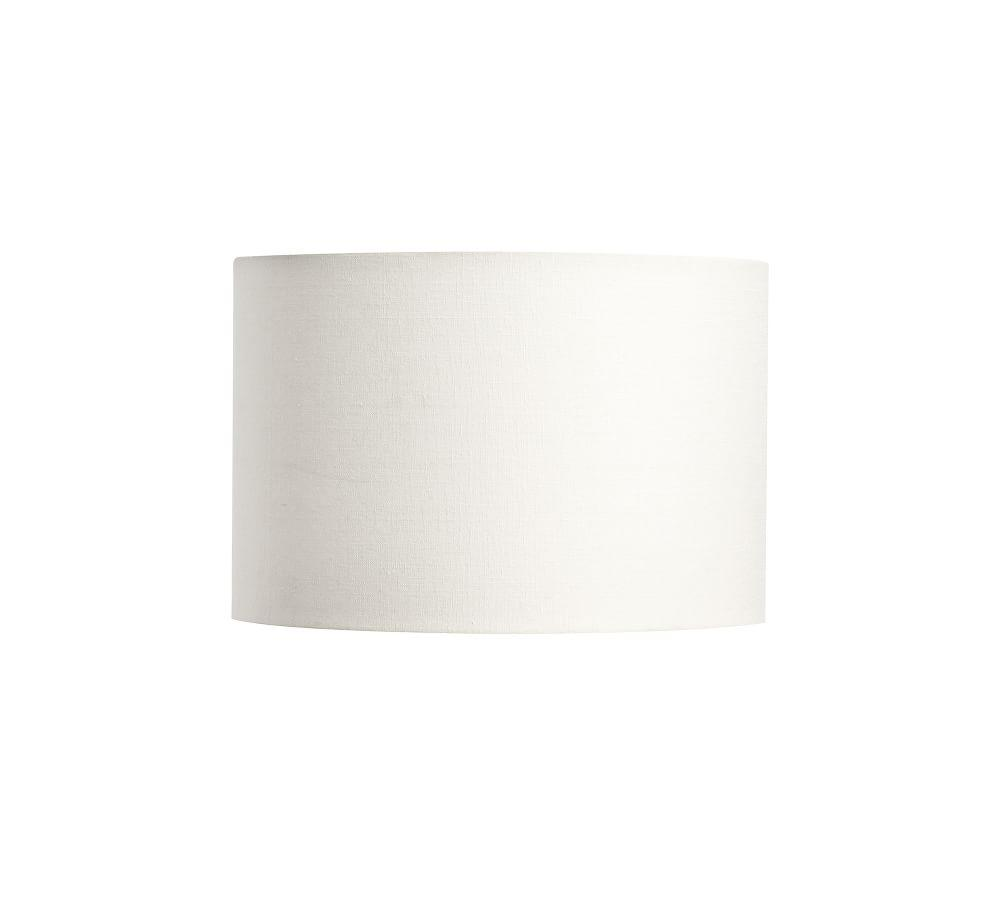 Gallery Straight-Sided Linen Drum Lamp Shade
