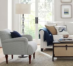 Marston Crystal Floor Lamp Base