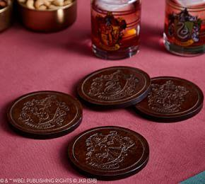 HARRY POTTER House Crest Coasters, Set of 4