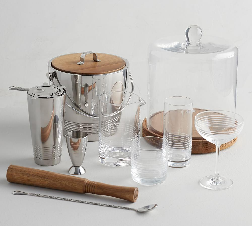 Crafthouse Ice Bucket with Tongs