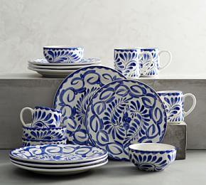 Puebla 16 Piece Dinnerware Set
