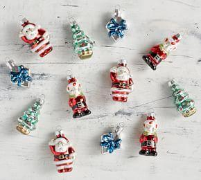 Mercury Mini Santa's Workshop Ornament Set