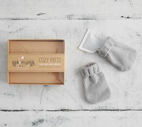 Cozy Mitts - Plush Knit Hand Warmers
