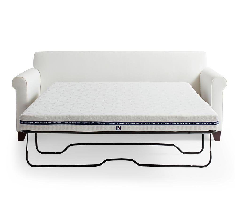 Cameron Roll Arm Upholstered Sleeper Sofa Mattress