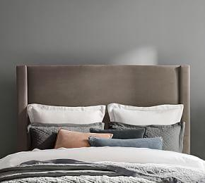 Harper Non-Tufted Tall Headboard