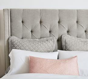 Harper Tufted Tall Headboard