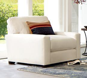 Turner Square Arm Upholstered Armchair