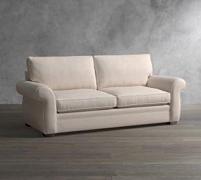Pearce Roll Arm Upholstered Sleeper Sofa with Memory Foam Mattress