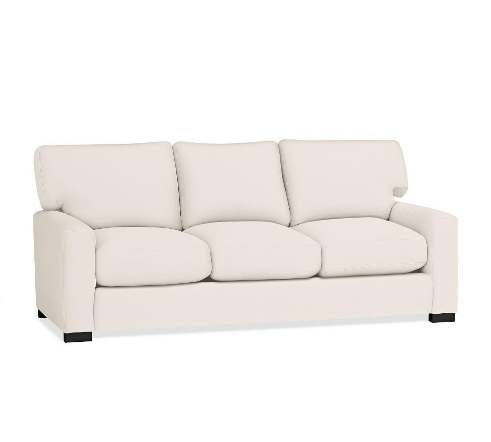 Turner Square Upholstered Sleeper Sofa with Memory Foam Mattress