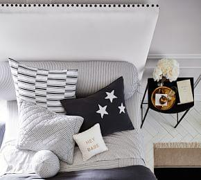 Raleigh Square Upholstered Tall Headboard