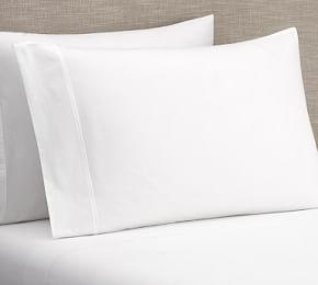PB Classic 400-Thread-Count Organic Percale Sheet Set
