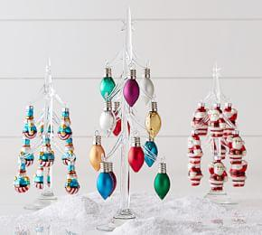 Glass Tree Mini Ornament Holder