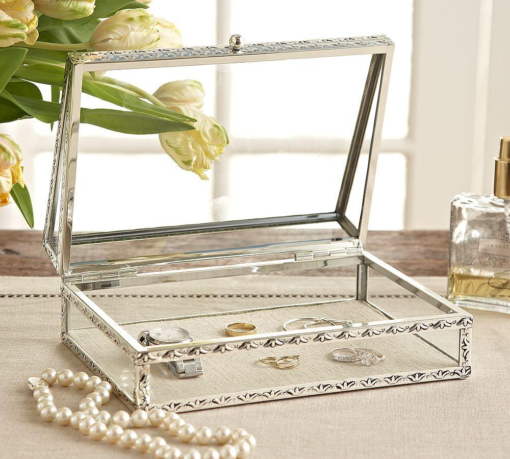 Antique Silver Jewelry Boxes